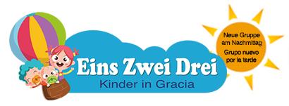 Eins-Zwei-Drei-Kinder in Gracia